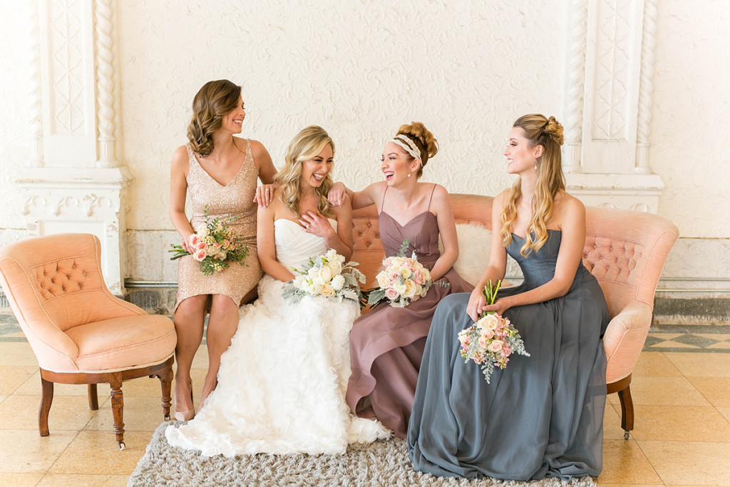 {Styled Shoot} Convertible Mix and Match Bridesmaid Dresses | Brideside