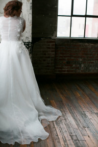 Affordable Couture Plus Size Wedding Gowns | Marlo Ford Collection | Pretty Pear Bride
