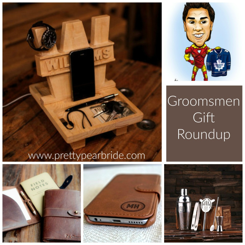 {Sponsored} Groovy Groomsmen Gift Ideas for 5 Different Types of Bros | Pretty Pear Bride