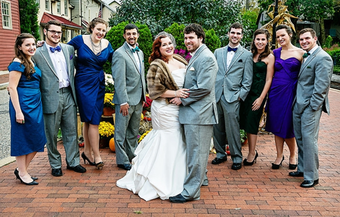 {Real Wedding} Mad Men Inspired Wedding in PA | Unique Concepts Studio Inc. | Pretty Pear Bride