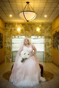 {Real Plus Size Wedding} Pretty in Pink Winery Wedding in Ontario | HRM Photography | Pretty Pear Bride