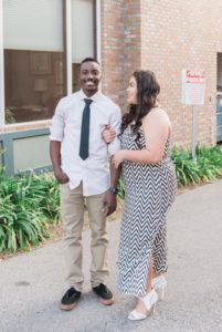 Engagement | Fire Station Downtown Engagement in California | Stevie Dee Photography | Pretty Pear Bride