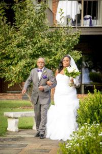 {Real Wedding} Purple and Silver Virginia Wedding | Ashley Vanley Photography | Pretty Pear Bride