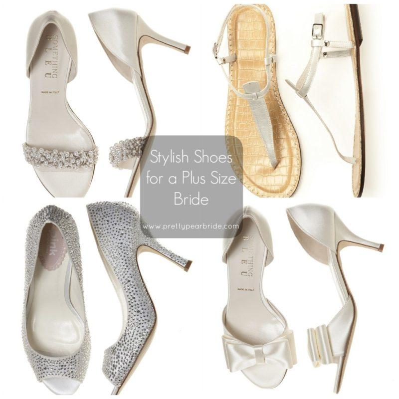 plus size bridal shoes