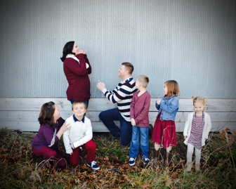 {Proposal} Family Pictures turned Surprise Proposal | Annabelle's Photography