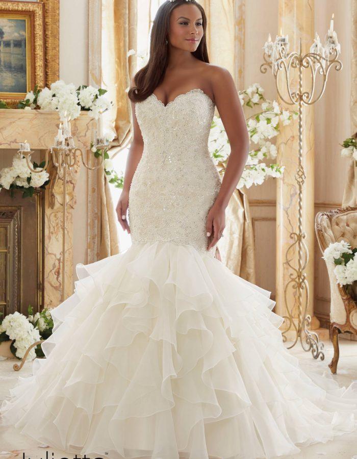 Plus Size Wedding Dresses Mori Lee : Plus size wedding gowns mori lee julietta collection pretty pear