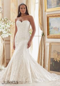 Plus Size Wedding Plus Size Wedding Gowns | Mori Lee | Julietta Collection | Pretty Pear Bride  | Mori Lee | Julietta Collection