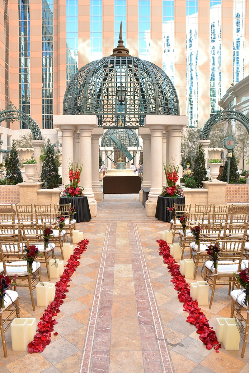Outdoor Ceremony at The Venetian[resized]