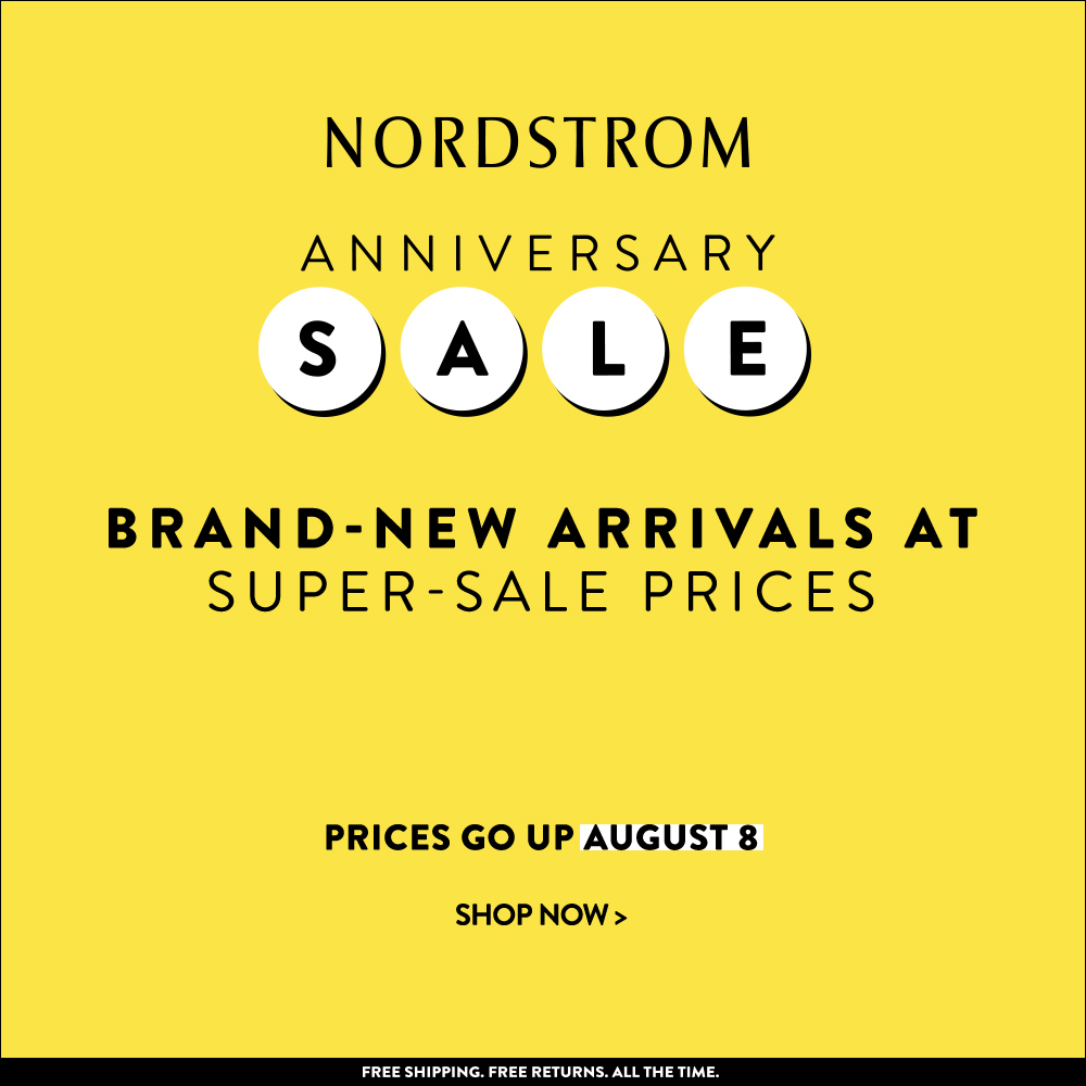 Sale Alert | Nordstrom Anniversary Sale | Pretty Pear Bride