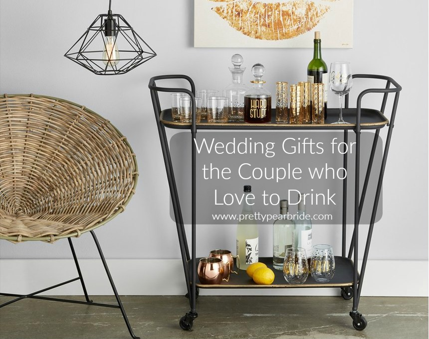Home Sunday | Wedding Gifts for the Couple Who Love to Drink | Pretty Pear Bride