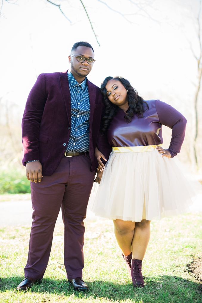 ENGAGEMENT | Ethereal Love in Downtown Columbus | Coley & Co Photography | Pretty Pear Bride