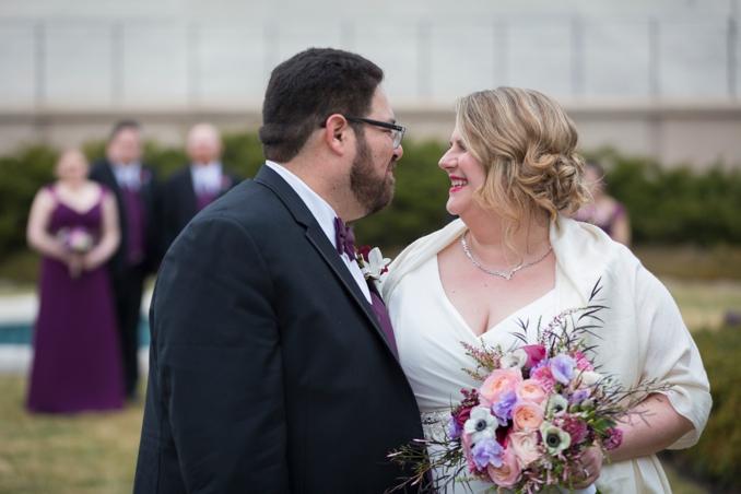 REAL WEDDING | Plum, Grey and Gold Vintage Wedding | Ryan Brandoff Photography | Pretty Pear Bride
