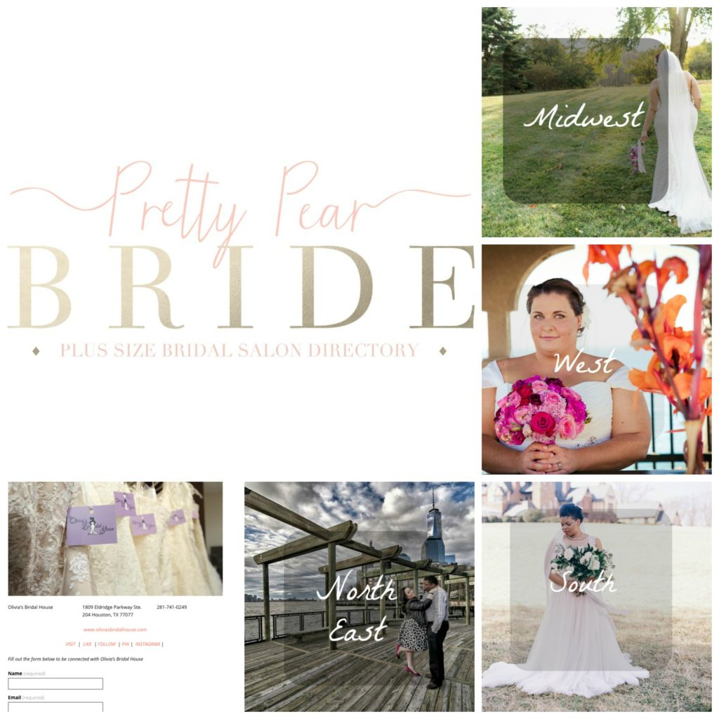 Pretty Pear Bride Plus Size Bridal Salon Directory