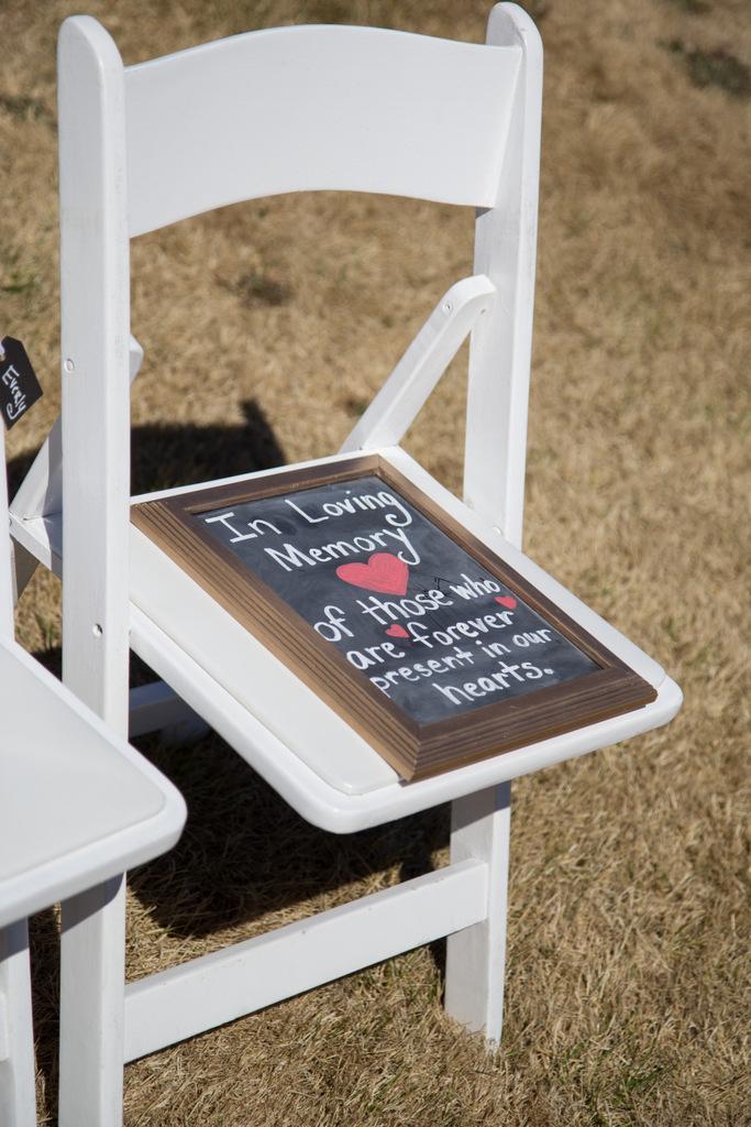 wedding day sign, chalkboard
