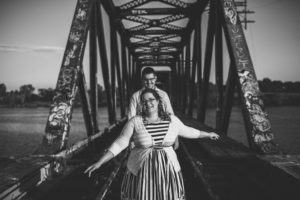 ENGAGEMENT   Canadian Engagment Session at Prince of Wales Train Bridge   Kymberlie Dozois Photography   Pretty Pear Bride