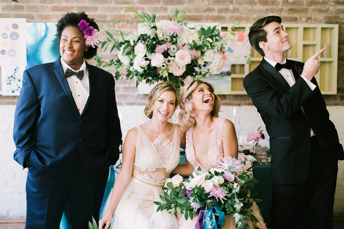 STYLED SHOOT | Colorful Whimsy | Aisle Society Experience | Pretty Pear Bride