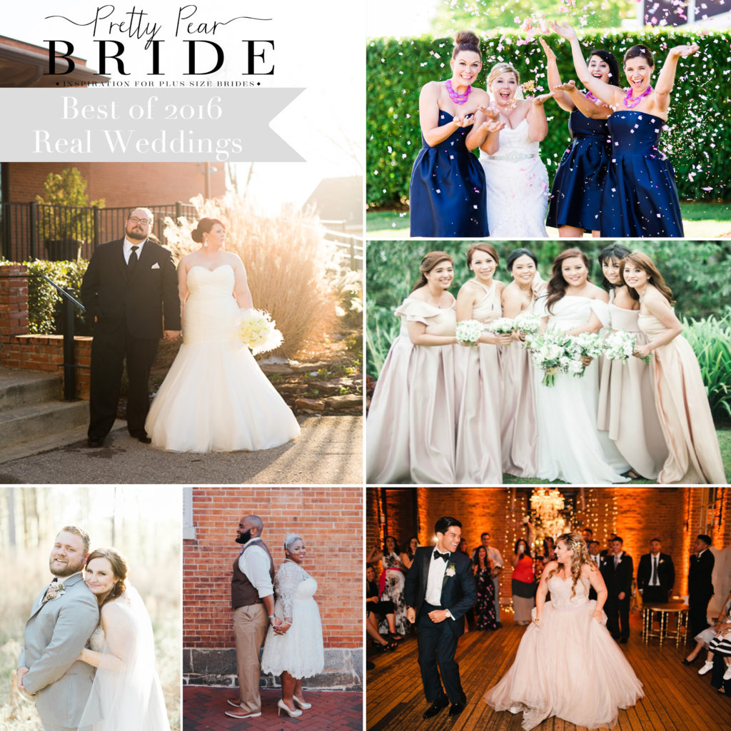 BEST OF 2016 | REAL WEDDINGS | Pretty Pear Bride