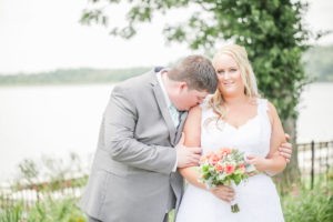 REAL WEDDING   Beautiful Mint and Gold Virginia Wedding by the Lake   Casey Hendrickson Photography   Pretty Pear Bride