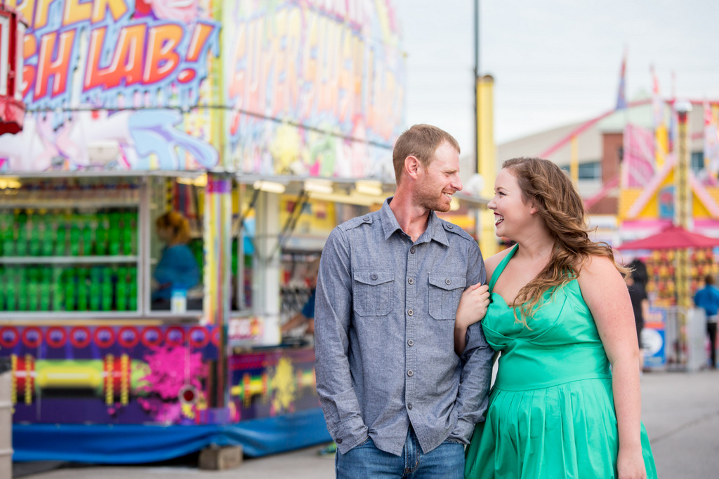 ENGAGEMENT | Engagement Session at the Western Fair | BeanBot Productions | Pretty Pear Bride