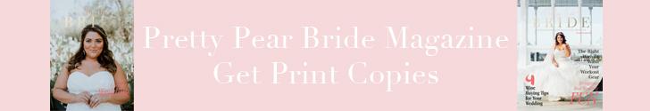 Pretty Pear Bride Magazine Print Copies