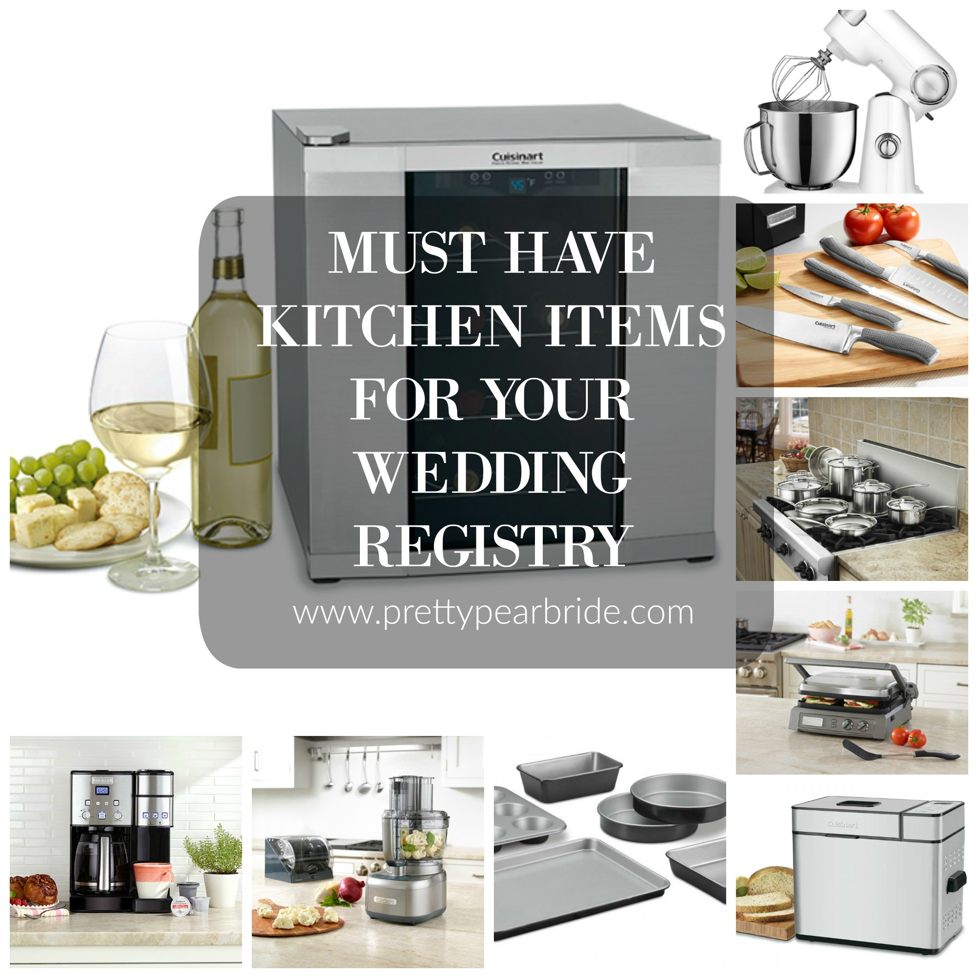 LIFESTYLE | Must Have Kitchen Items for Your Wedding Registry | Pretty Pear Bride
