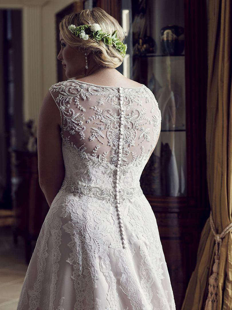 PLUS SIZE WEDDING DRESS | STYLE #2230 | CASABLANCA BRIDAL