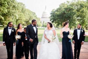 REAL WEDDING | Beautiful DC Spring Wedding | Unique2Chic Photography | Pretty Pear Bride