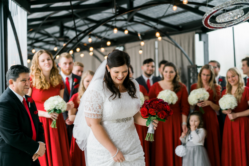 REAL WEDDING | Red and Grey Wedding in San Diego | Amy Golding Photography & Terina Matthews Photography | Pretty Pear Bride