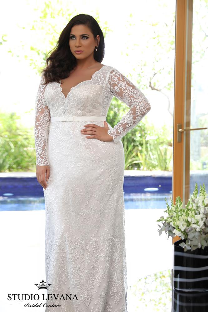 FASHION FRIDAY   Introducing Plus Size Bridal Designer Studio Levana   Pretty Pear Bride
