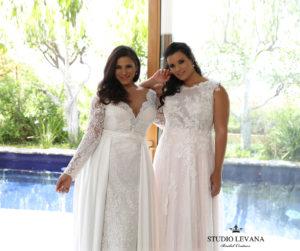 FASHION FRIDAY | Introducing Plus Size Bridal Designer Studio Levana | Pretty Pear Bride