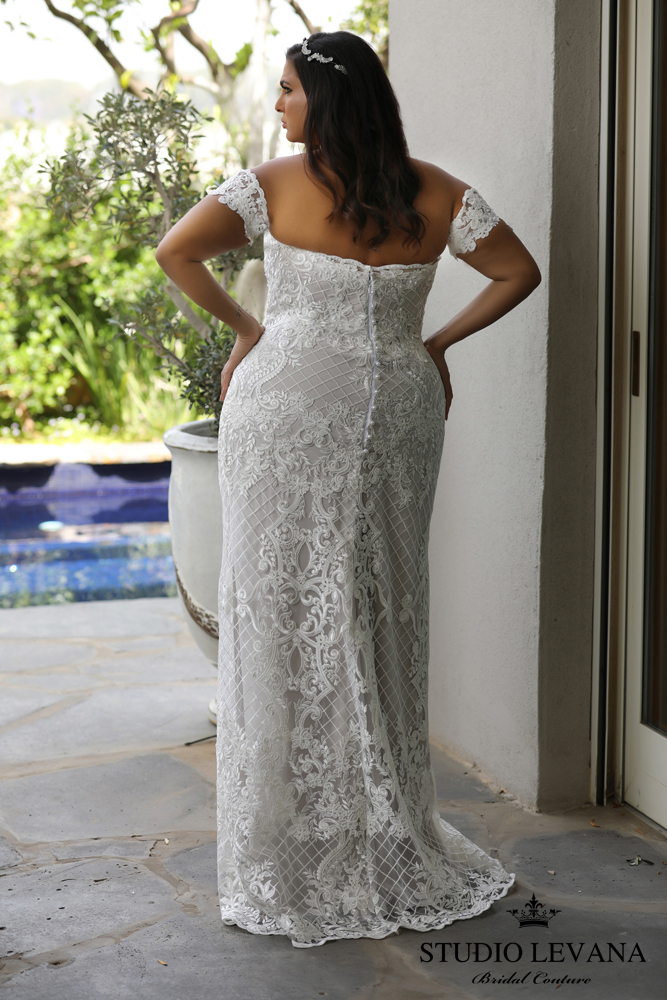 FASHION FRIDAY | Introducing Plus Size Bridal Designer Studio Levana | Pretty Pear Bride