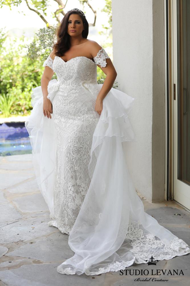 FASHION FRIDAY | Introducing Plus Size Bridal Designer Studio Levana ...
