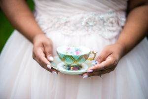 REAL WEDDING | Enchanting Alice In Wonderland Wedding in Washington | Ashley Danielle Photography | Pretty Pear Bride