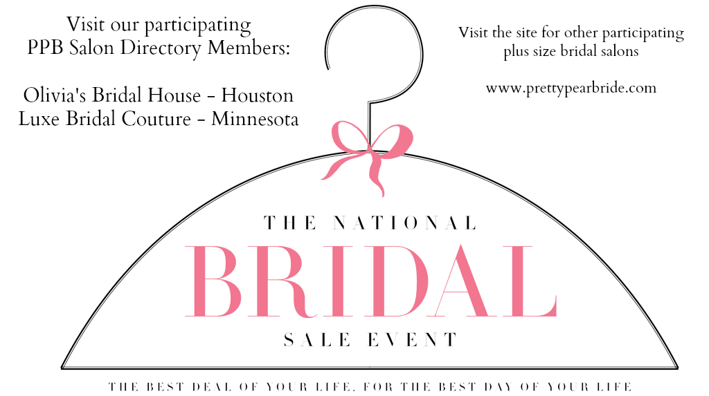 FASHION FRIDAY | The National Bridal Show featuring 12 Plus Size Bridal Salon | Pretty Pear Bride