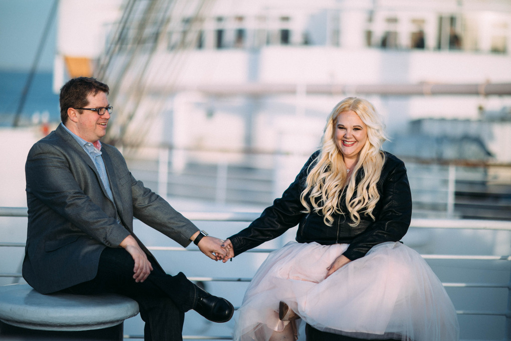 ENGAGEMENT | Queen Mary Engagement Session | Bright Bird Photography | Pretty Pear Bride