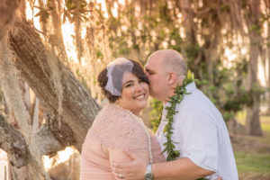 REAL WEDDING | Blush and Plum Tropical Florida Wedding | Kristen Marie Photography | Pretty Pear Bride