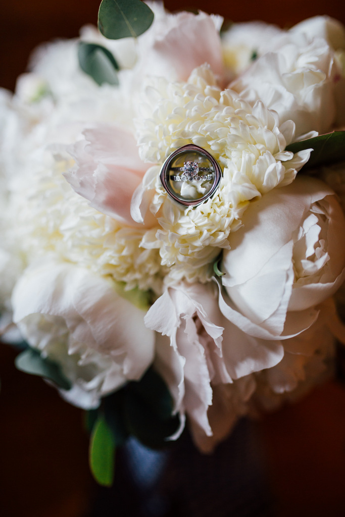 REAL WEDDING | Smoky Mountain Blush and Blue Wedding | Kennedy Blue