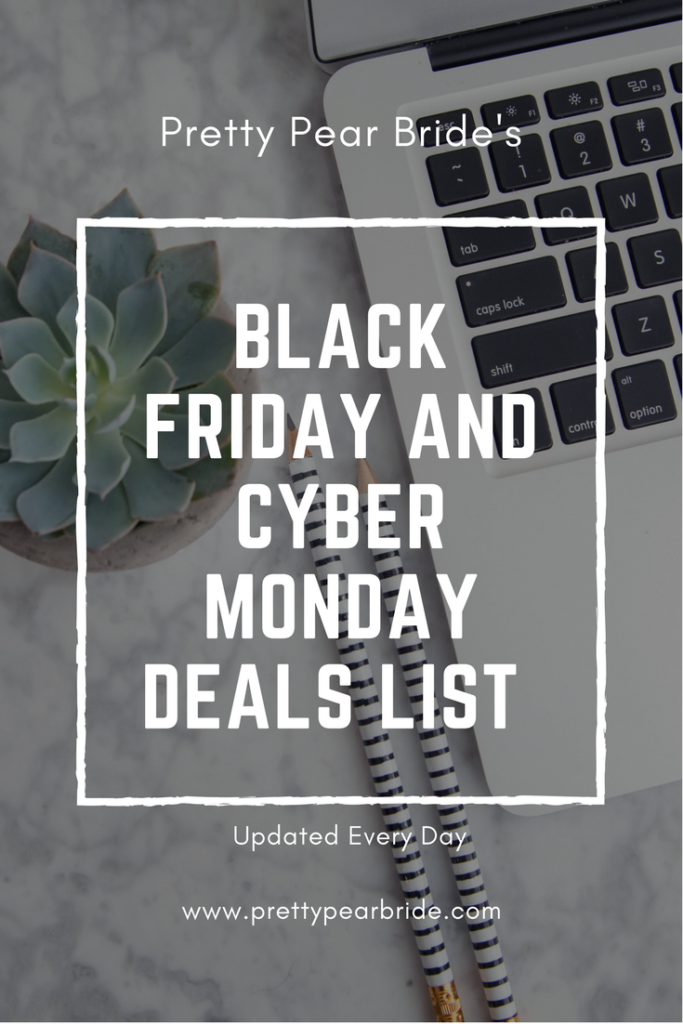 LIFESTYLE: Black Friday and Cyber Monday Sales