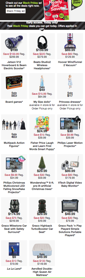 One-day Only Black Friday Ad Leak | TODAY-ONLY 11/6 | Pretty Pear Bride
