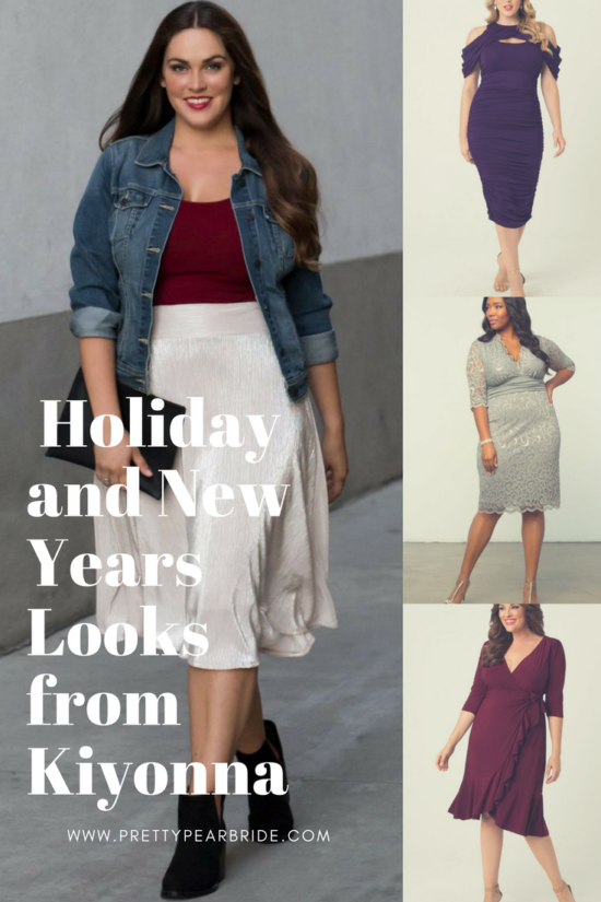 LIFESTYLE | Plus Size Holiday and New Years Eve Looks from Kiyonna  | Pretty Pear Bride