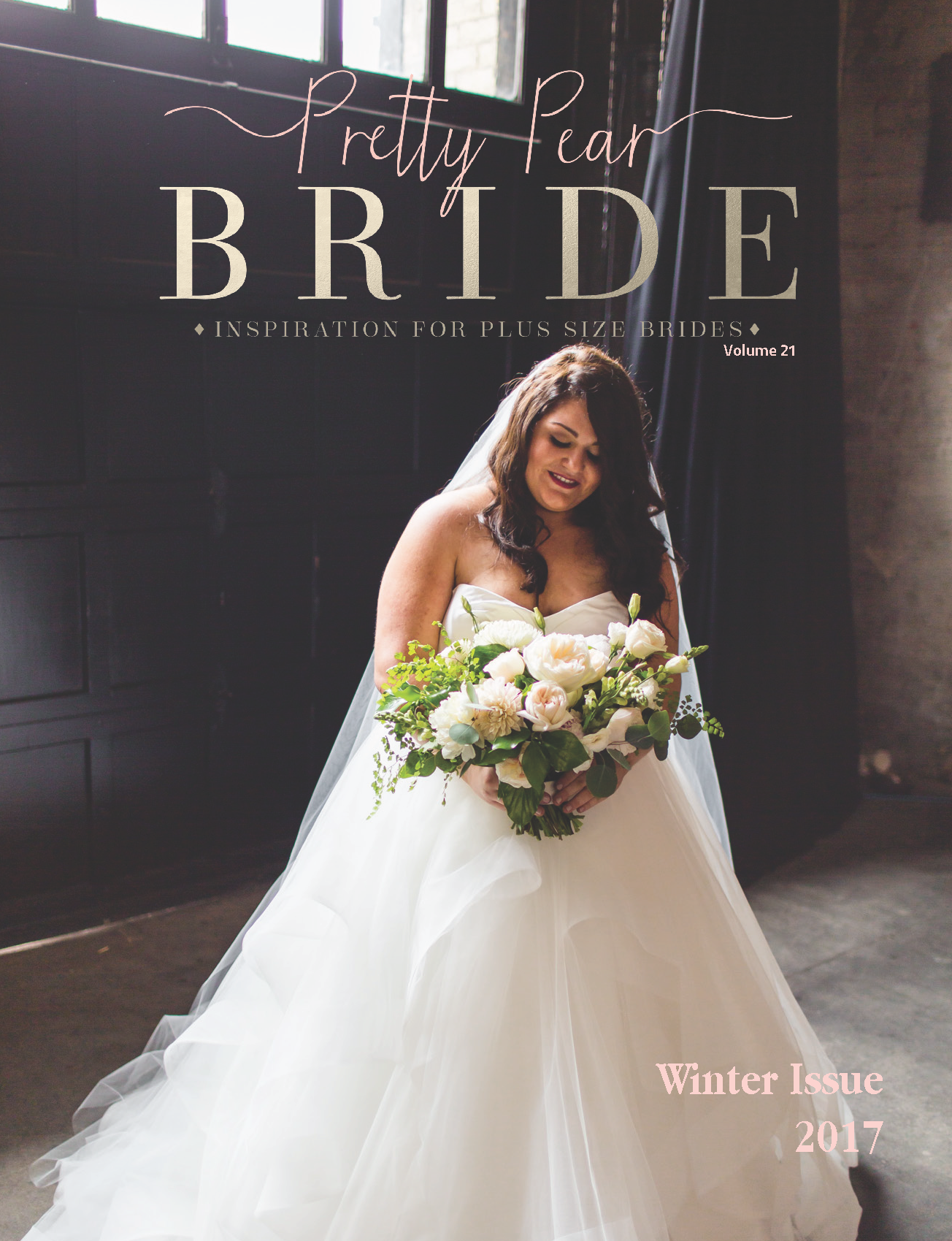 MAGAZINE | Winter Issue 2017 is Live | Pretty Pear Bride