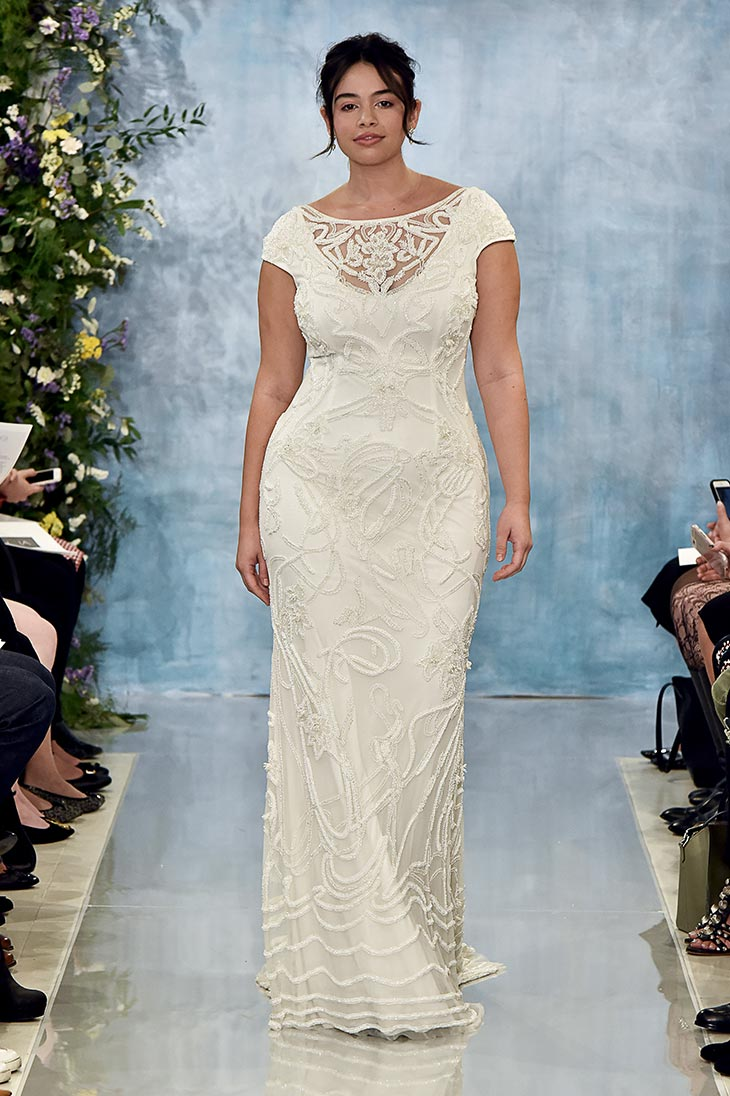 PLUS SIZE BRIDAL COLLECTION | Theia Plus Size Capsule Collection | Pretty Pear Bride