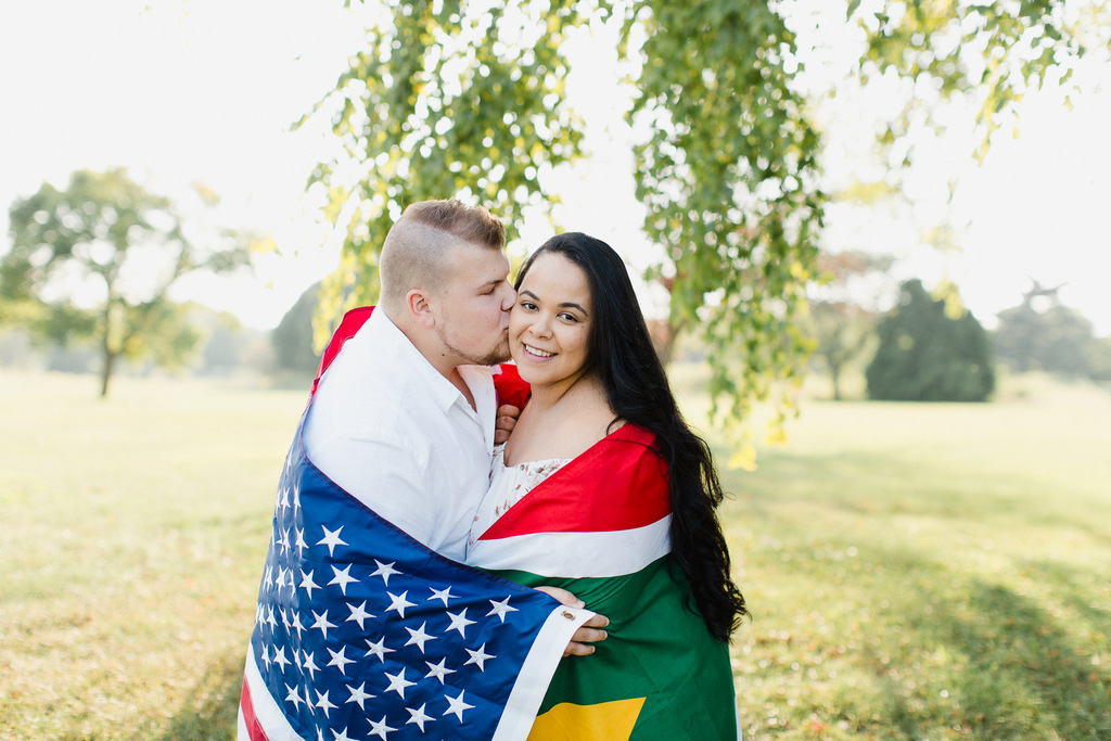 ENGAGEMENT | American Meets South African in Illinois Engagement | Stephanie Bartman Photography | Pretty Pear Bride