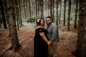 plus size bride, curvy bride, pretty pear bride, plus size engagement