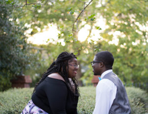 plus size bride, pretty pear bride, plus size engagement, curvy bride