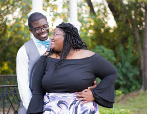 plus size bride, pretty pear bride, plus size engagement, curvy bride