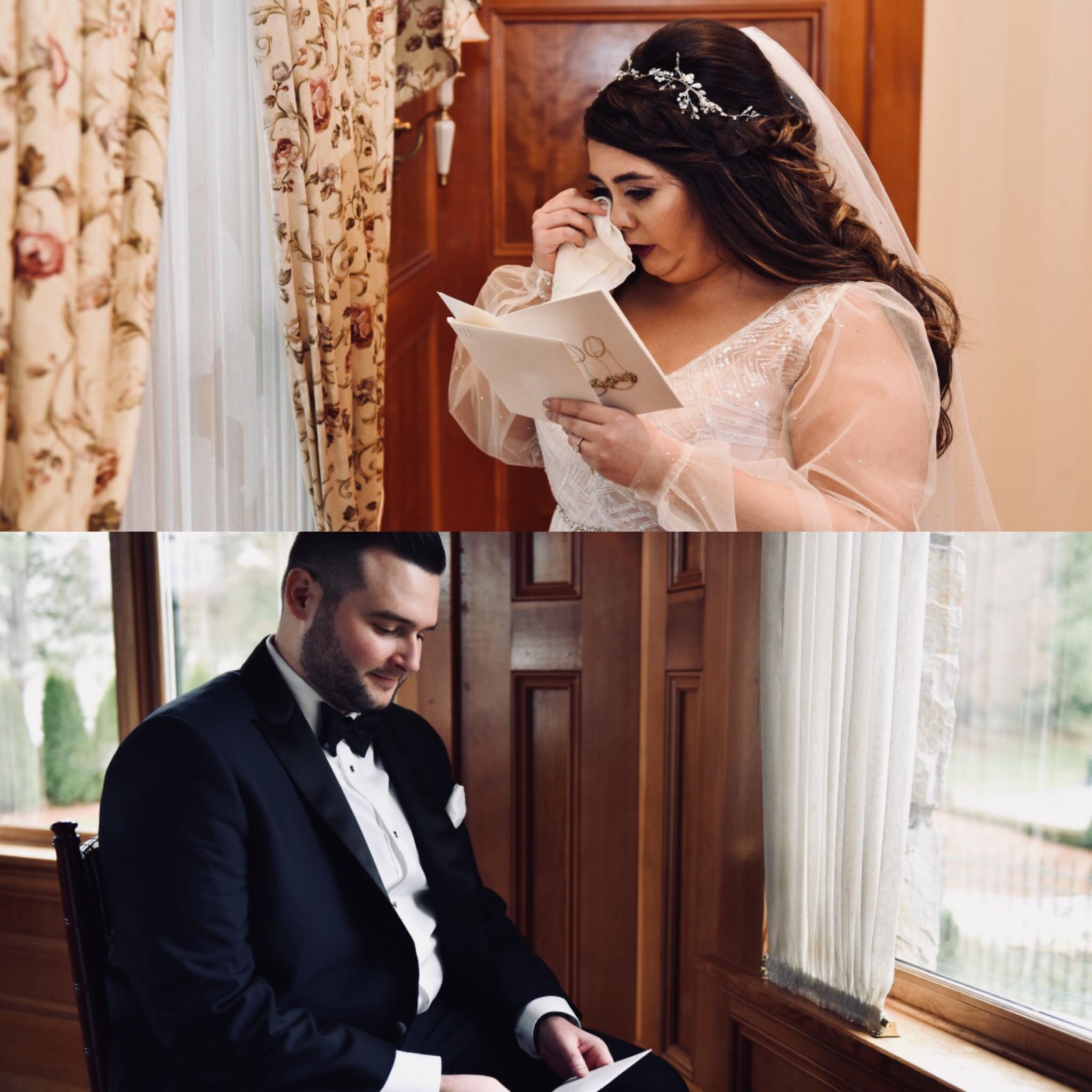 REAL WEDDING | Romantic Secret Garden Meets Rustic Lodge in Massachusetts | Keith Berry | Pretty Pear Bride
