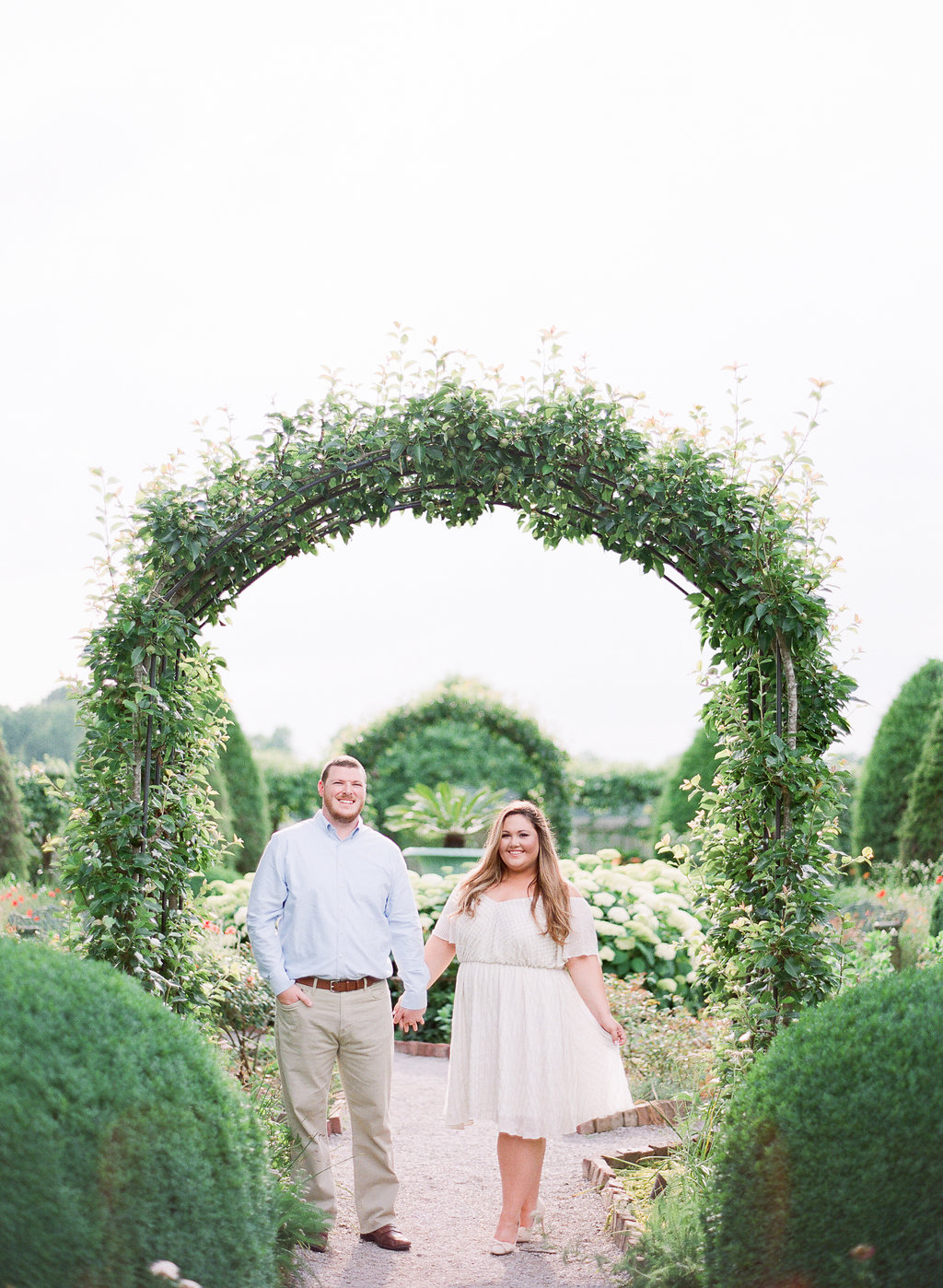 plus size engagement, Tennessee engagement