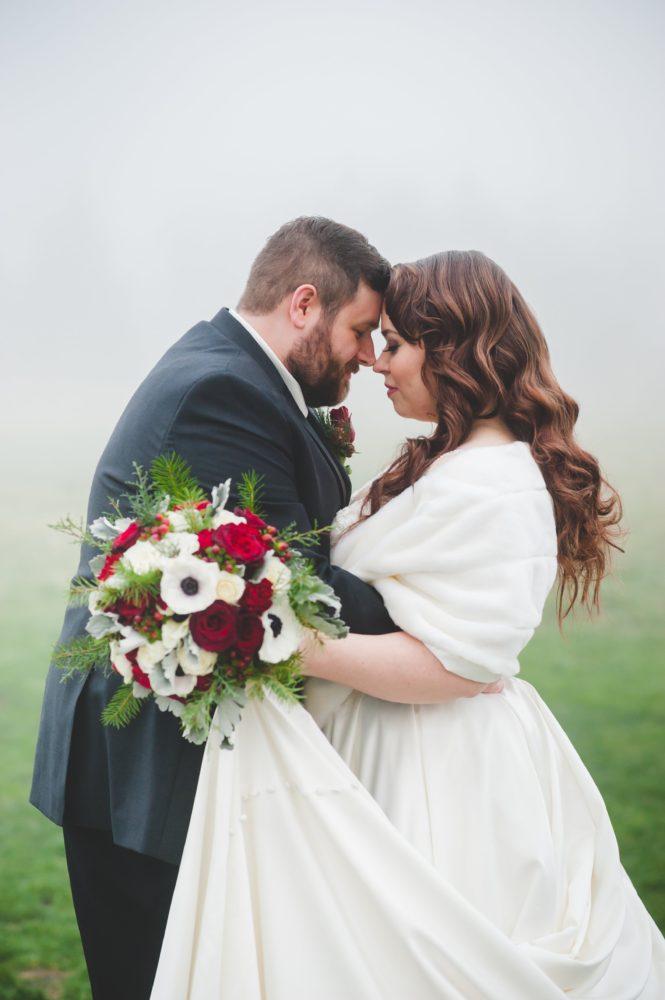 REAL WEDDING | Glamorous Winter Wedding in Canada | Michelle Lana Photography | Pretty Pear Bride