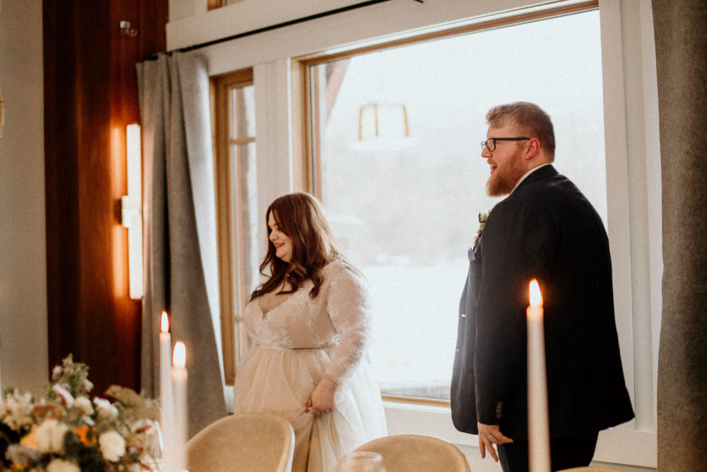 REAL WEDDING   Intimate and Romantic Elopement Style Lake Wedding in Canada   Dani Photography